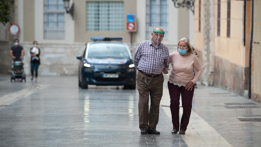 Temendo aumento de infecções, Espanha quer limitar viagens na Páscoa - SOPA Images / LightRocket via Getty Images