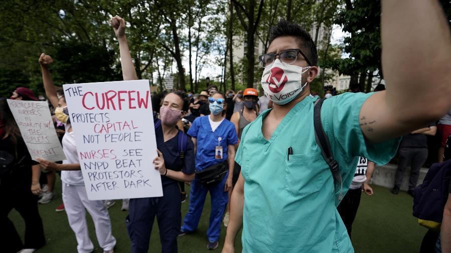 """""""A cada dia vemos os efeitos do racismo quando atendemos pacientes"""", diz médica - AFP"""