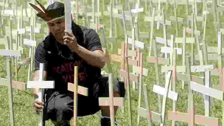 Além da ameaça da pandemia, a história dos guarani-kaiowá é marcada por conflitos e mortes nos últimos anos - WILSON DIAS / AGÊNCIA BRASIL - WILSON DIAS / AGÊNCIA BRASIL