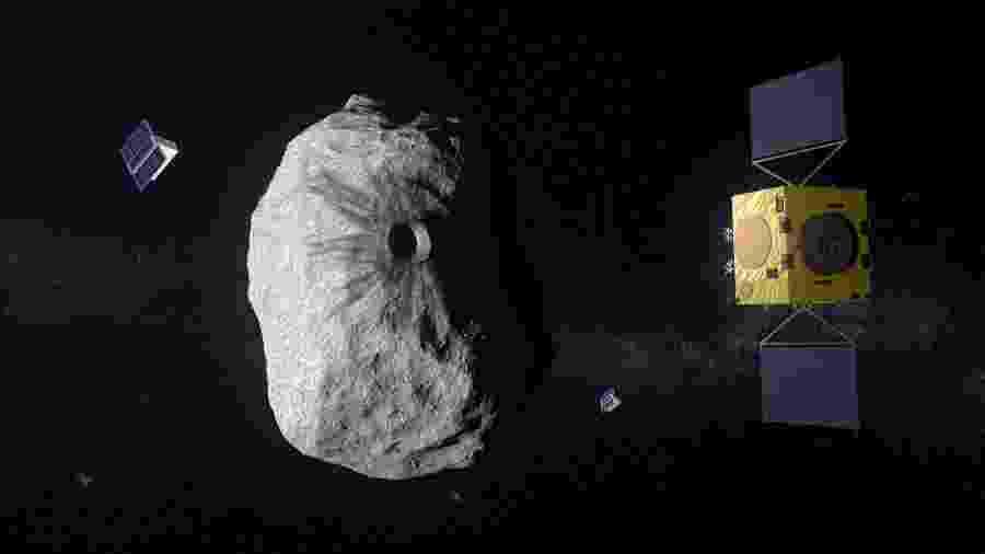 Nasa e ESA farão missão em conjunto para investigar desvio de asteroides - Reprodução