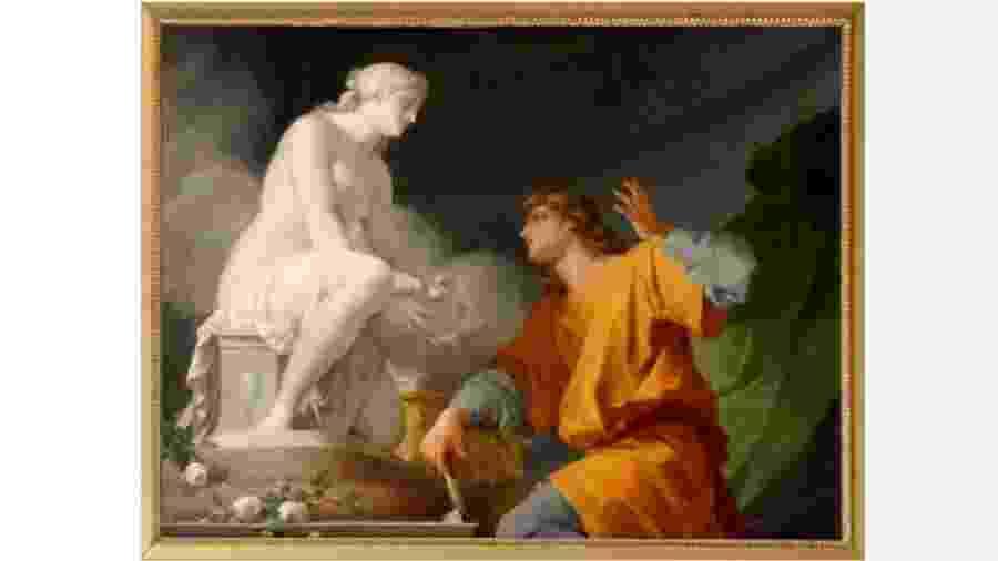 """Quadro """"Pigmaleão e Galatéia"""", do pintor francês Henri Regnault (1843-1871). Delírio de Paulo Guedes chega ao fim. E com péssimos resultados - Reprodução"""