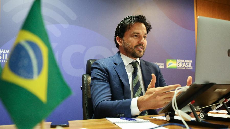 Ministro das Comunicações, Fábio Faria - Cléverson Oliveira/Ministério das Comunicações