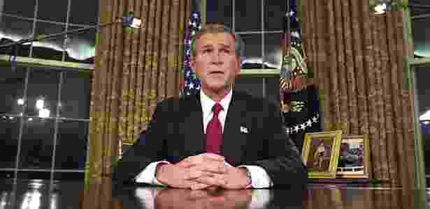 George W. Bush - Luke Frazza/AFP - Luke Frazza/AFP