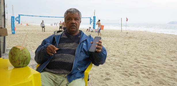 """Para Wellington Jorge Pinto, morador do Leblon, a conexão Wi-Fi pública serve apenas para """"enfeite"""""""