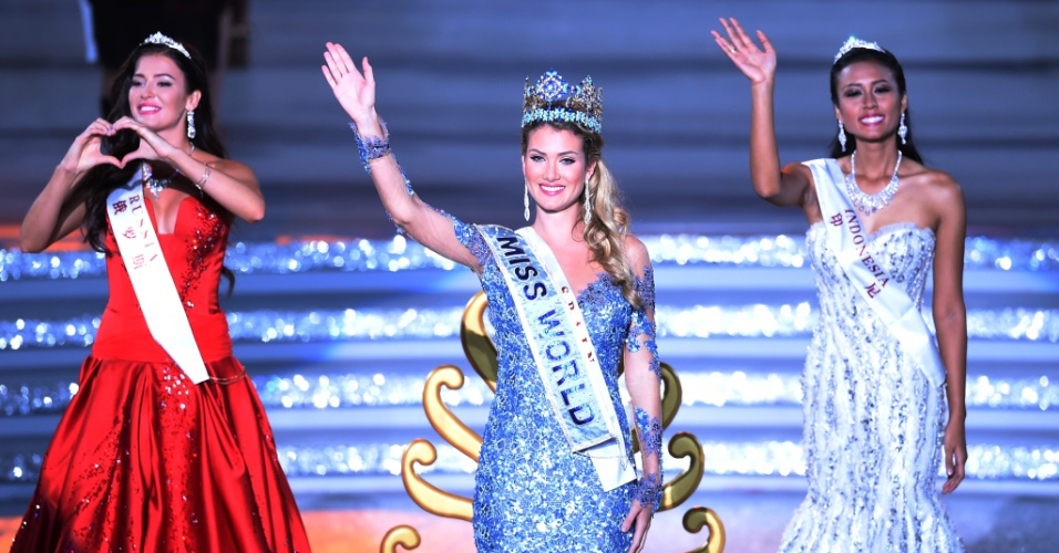 Mireia Lalaguna Royo foi eleita Miss Mundo 2015