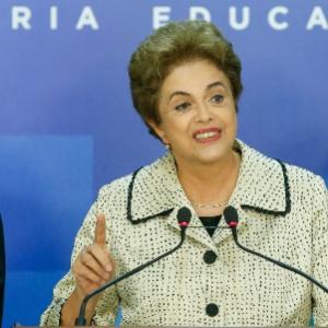"A presidente Dilma Rousseff enviou ""abraço carinhoso"" às brasileiras"