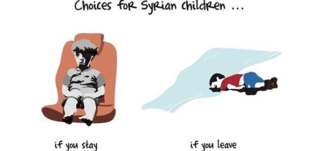 Escolhas para as crianças sírias: se você fica... se você vai
