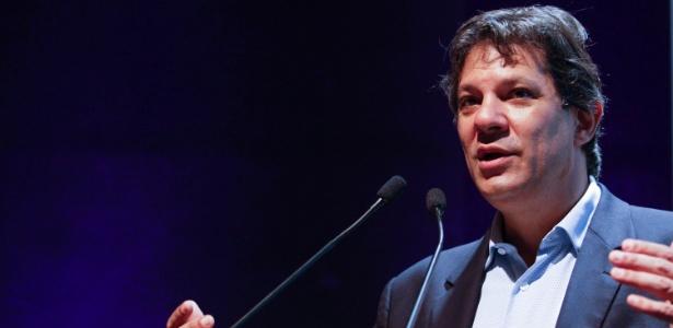 O ex-prefeito de São Paulo, Fernando Haddad