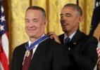 Como Tom Hanks conquistou a gratidão dos jornalistas que cobrem a Casa Branca? - Chip Somodevilla/Getty Images
