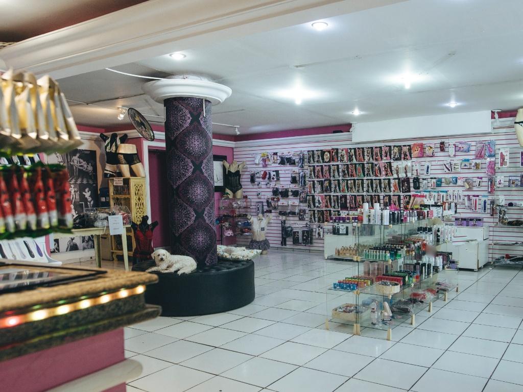 O Vênus Sex Shop, localizado na Rua da Consolação, em São Paulo, da empresária Maísa Pacheco