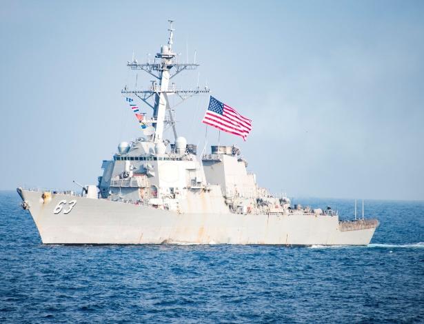 China reage ao envio de destróier americano às ilhas Xisha, no Mar da China Meridional