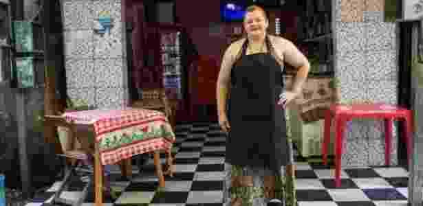 O bar de Regina Alves dos Santos faz sucesso entre engravatados da região - Diego Padgurschi - Diego Padgurschi