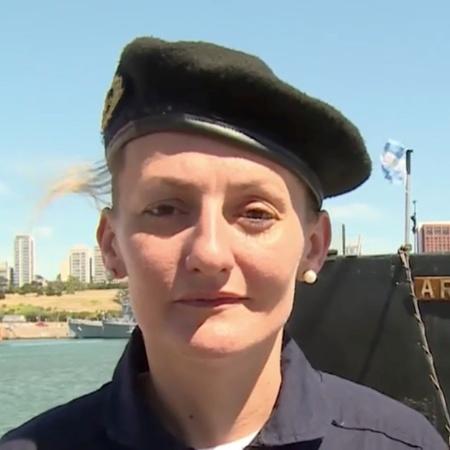 Eliana Krawczyk era chefe de operações do Ara San Juan - Ministerio de Defensa de Argentina/Reuters