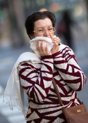 Temperaturas ficarão frias na capital paulista durante todo o fim de semana