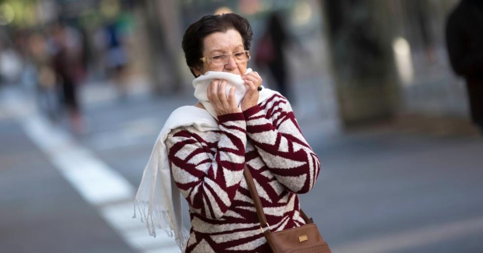 Vem aí um fim de semana gelado | SP pode ter menor temperatura do ano; frente fria afeta centro-sul do país