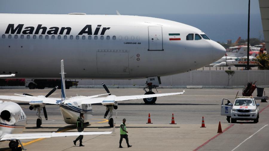 mahan air avião Airbus A340 - Carlos Garcia Rawlins/Reuters