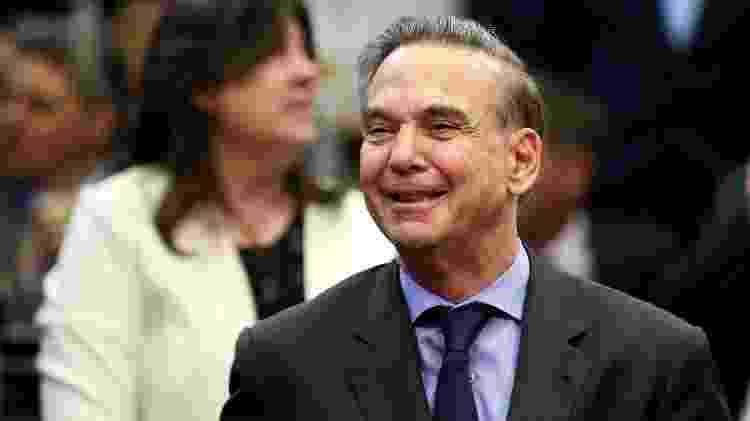 O advogado Miguel Ángel Pichetto, vice na chapa de Mauricio Macri na disputa presidencial na Argentina - Agustin Marcarian/Reuters