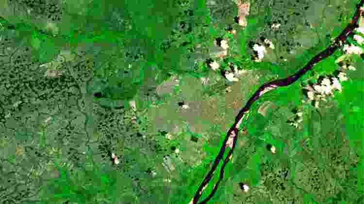 11.out.2016 - Imagem de Boa Vista, capital de Roraima, registrada pelo satélite CBERS-4 - Coordenação-Geral de Observação da Terra/ INPE  - Coordenação-Geral de Observação da Terra/ INPE