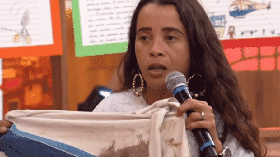 Bruna da Silva no Encontro com Fátima Bernardes - Reprodução/Globoplay