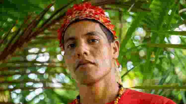 Josenildo Cruz, cacique da aldeia Açaizal - José Cícero da Silva/Agência Pública - José Cícero da Silva/Agência Pública