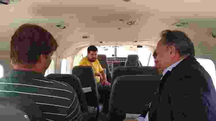 TwoFlex avião interna - Vinícius Casagrande/UOL - Vinícius Casagrande/UOL