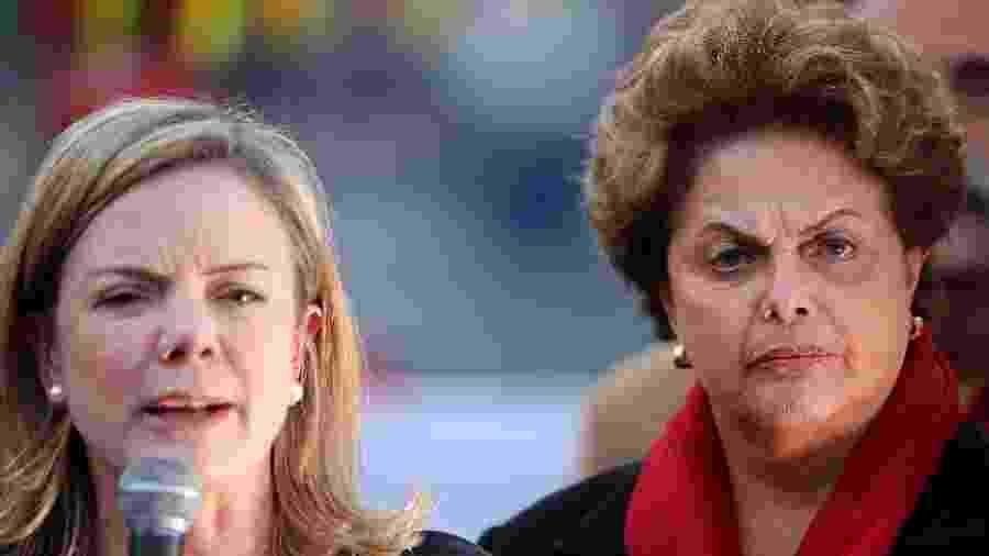 """Gleisi acusa Moro de usar PF """"descaradamente"""" em pedido de prisão de Dilma - Heuler Andrey/Folhapress"""