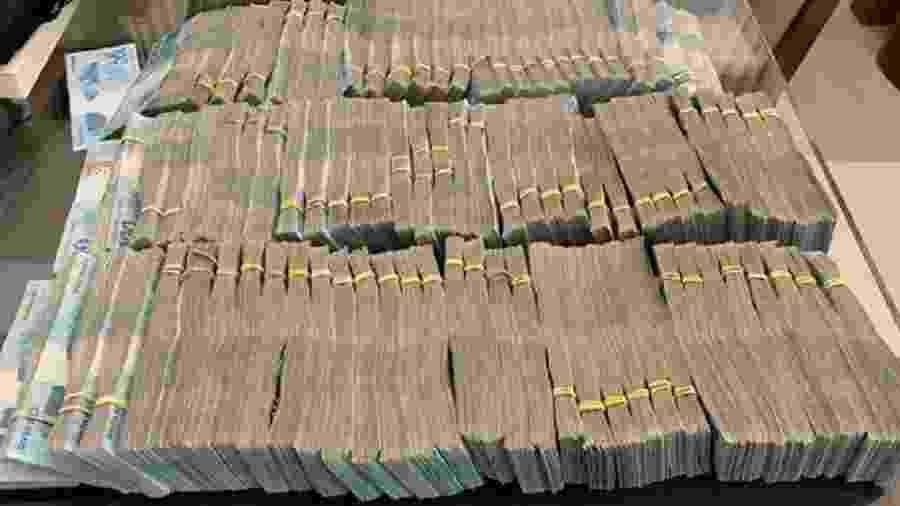 Gaeco apreendeu R$ 1.607.000,00 durante Operação João de Barro  - Divulgação/MPSP