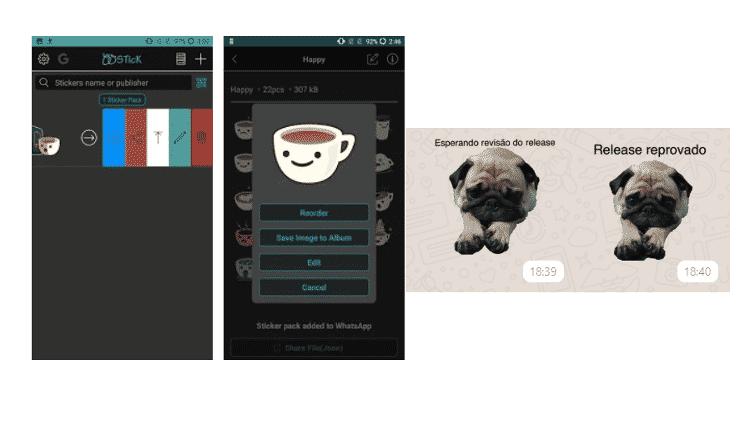 WStick App: Stickers no WhatsApp - Reprodução - Reprodução
