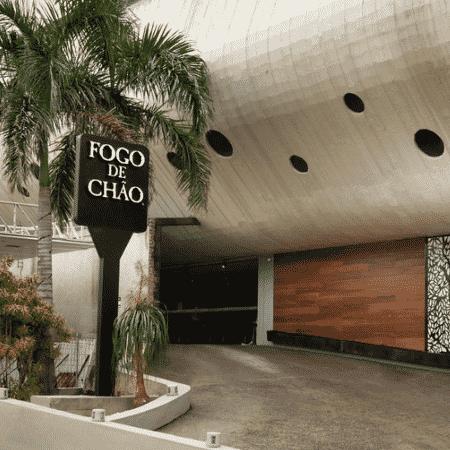 Unidade da churrascaria Fogo de Chão em Botafogo, no Rio - Reprodução/Instagram