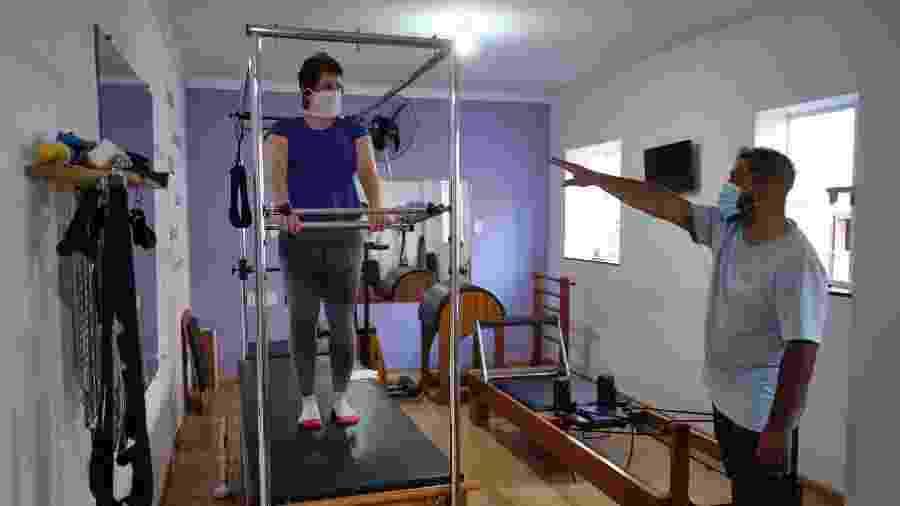 13/07/2020 - Com regras e restrições, academias e estúdios de pilates reabrem nesta segunda-feira, na cidade de São Paulo - JOÃO ALVAREZ/ESTADÃO CONTEÚDO