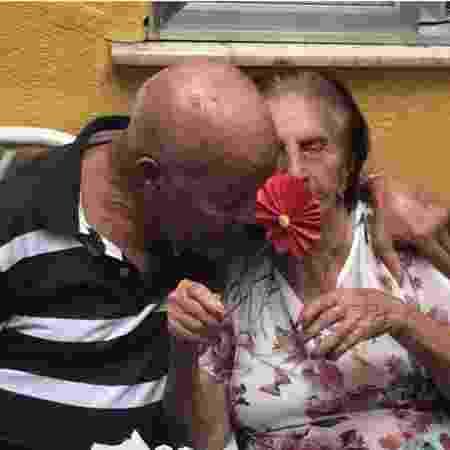 Casal Edvaldo e Rosa - Arquivo pessoal - Arquivo pessoal