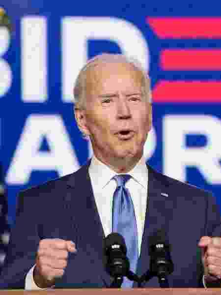 Joe Biden é eleito novo presidente dos Estados Unidos - KEVIN LAMARQUE/REUTERS