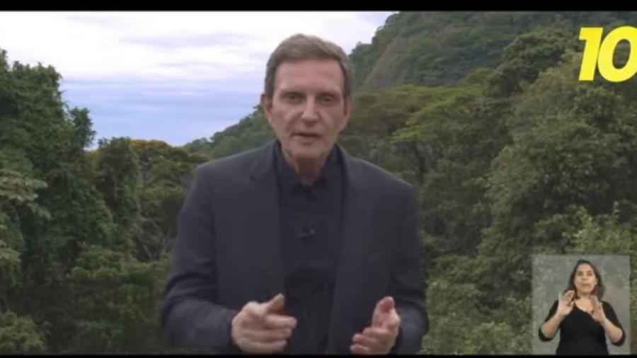 O ex-prefeito Marcelo Crivella - Reprodução