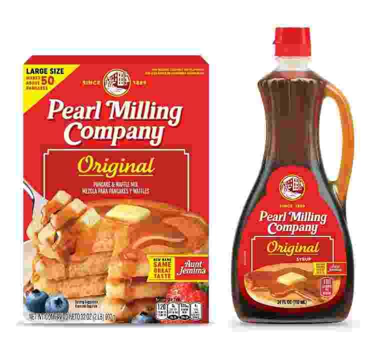 """A nova marca """"Pearl Milling Company"""" substitui a """"Aunt Jemma"""" - Divulgação/PepsiCo, Inc. - Divulgação/PepsiCo, Inc."""