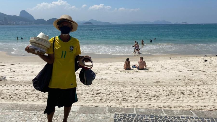 Trabalho de ambulantes também está liberado durante dias úteis - Herculano Barreto Filho/UOL