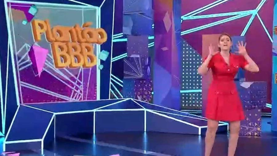 BBB 21: No Plantão BBB, Ana Clara cantou música da Marília Mendonça e Anitta como se fosse da Simone e Simaria - Reprodução/Globo