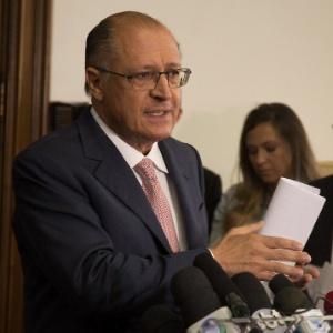 O governador Geraldo Alckmin (PSDB)
