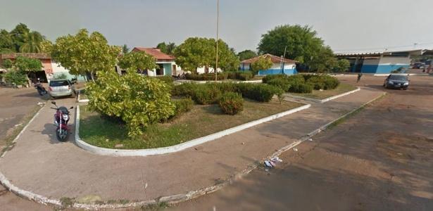 Praça da Rodoviária, uma das que a prefeita de Coroatá (MA), quer vender