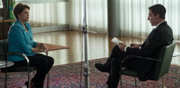Dilma deu entrevista ao jornalista Glenn Greenwald