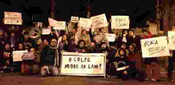 protesto casa temer - Fernanda Danelon/Acervo pessoal - Fernanda Danelon/Acervo pessoal