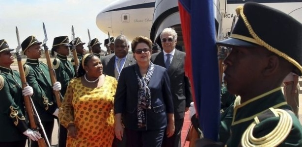 Dilma visita embaixada africana