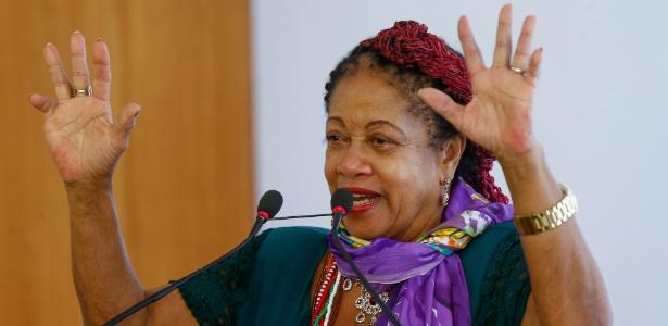 A ministra dos Direitos Humanos do governo Temer, Luislinda Valois (PSDB-BA)