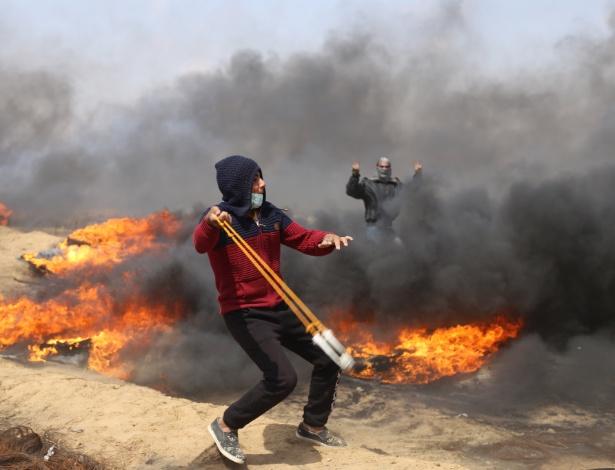 Forças israelenses também mataram três palestinos mais cedo nesta sexta-feira (27) durante protestos em Gaza