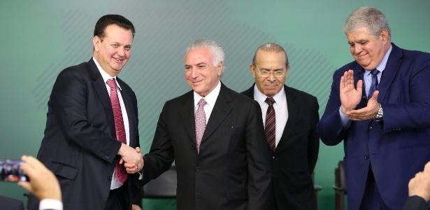 Presidente Temer sanciona lei que dispõe sobre o tratamento de dados pessoais no Brasil - Divulgação/Twitter @micheltemer
