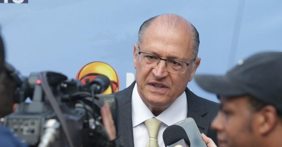 Geraldo Alckmin (PSDB) também se prepara para entrar em estúdio