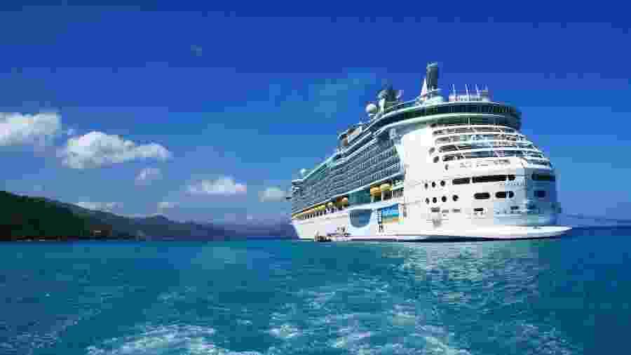 12.out.2009 - O cruzeiro Freedom of the Seas da Royal Caribbean Cruises - Getty Images