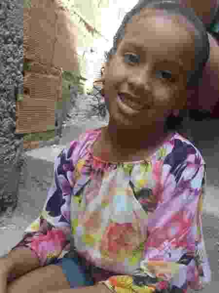 Estela Evangelista de Oliveira, 6, que desapareceu no Rio de Janeiro no dia 5 de outubro - Arquivo pessoal