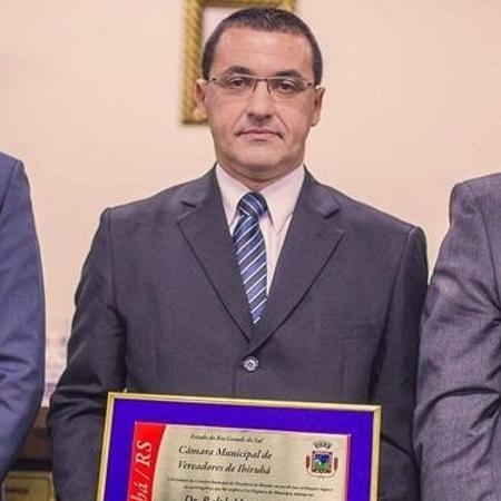 O juiz Ralph Moraes Langanke - Divulgação/Câmara dos Vereadores de Ibirubá (RS)