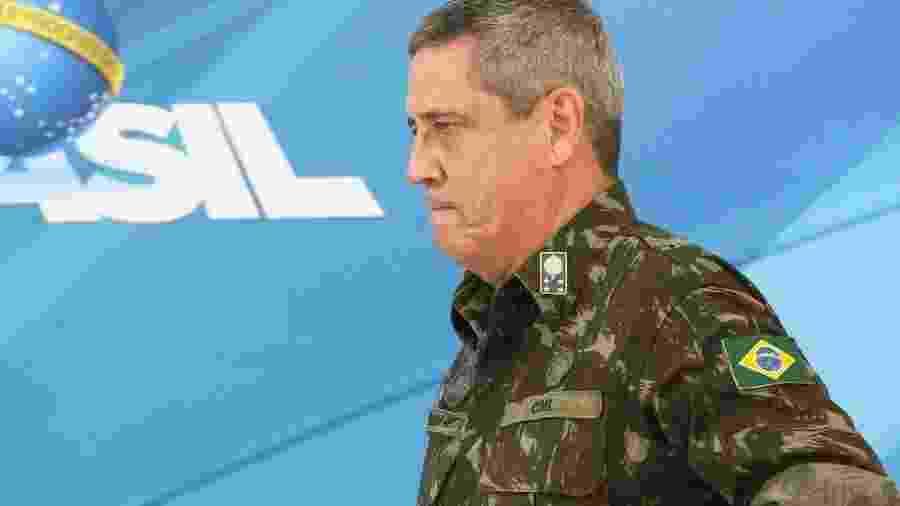 Braga Netto em foto de fevereiro de 2018, na ocasião da intervenção federal na segurança do Rio, no governo Temer - Marcelo Camargo/Agência Brasil