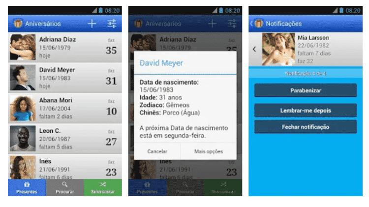 Aniversários (birthday): aplicativos para ajudar quem é esquecido - Reprodução - Reprodução